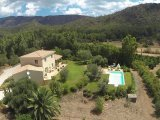 Airview of the villa