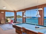 Billiard with view