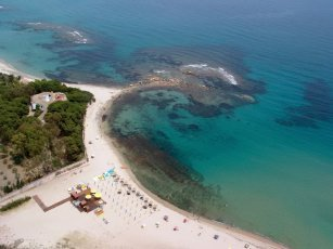 Su Faru 2 - Su Faru Beach from the air